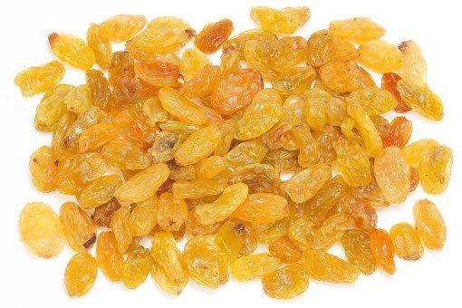Gele rozijnen jumbo 400 gram