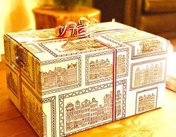 Geschenkbox met lekkernijen