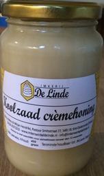 Koolzaad Crèmehoning Imkerij de Linde