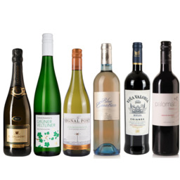 Wijnbox 6 flessen Klassiek