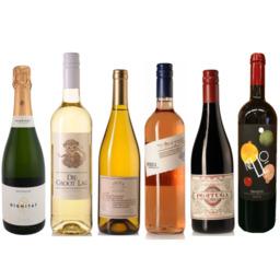 Wijnbox 6 flessen Verrassend