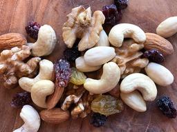 Gezondheidsmix rozijnen/ cranberry
