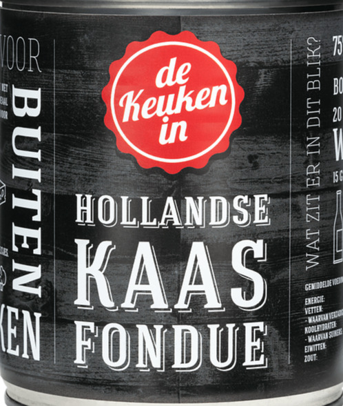 Hollandse kaasfondue 750 gram