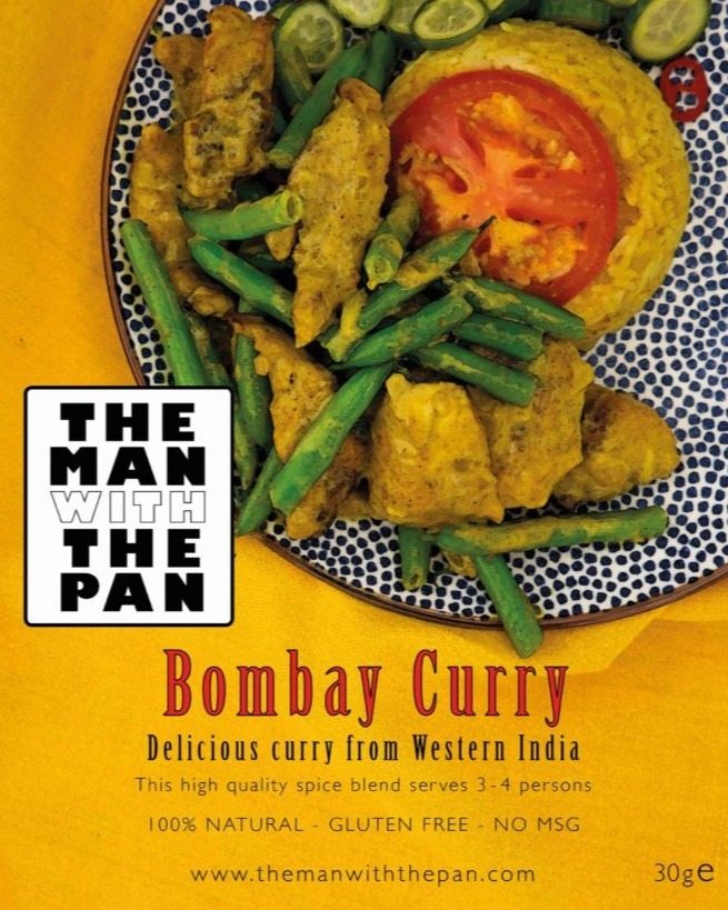The man with the pan Bombay curry