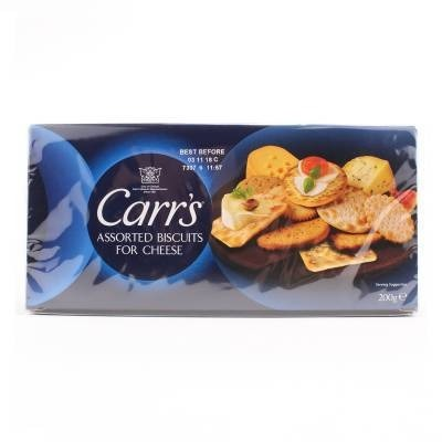 Carr's assorti crackers