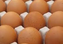 Grote eieren doosje van 6