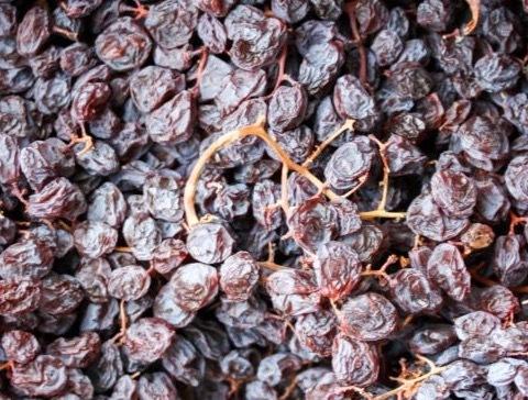 Gedroogde Muscat druiven
