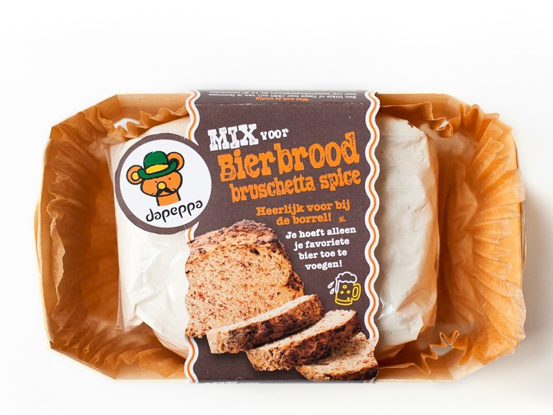 bierbrood spicy bruchetta