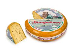 Gesneden komijn belegen kaas