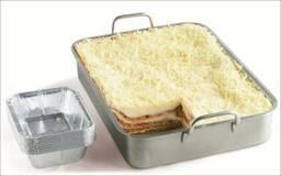 Lasagne bolognese met alu-bakjes
