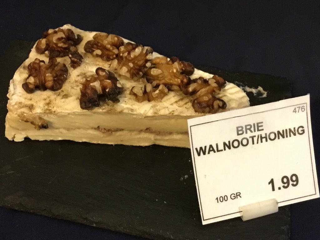 Brie walnoot/wijchense honing