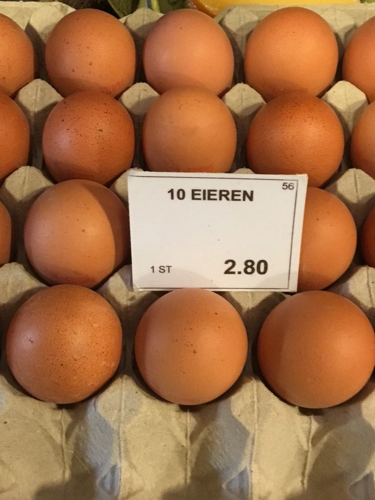 Scharrel eieren